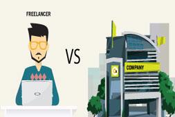 大问题自由职业者VS Web开发公司
