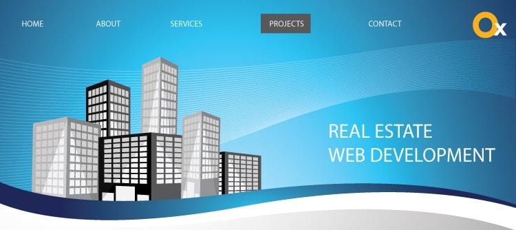 目を引くリアルな不動産ウェブ開発を備えた素晴らしい第一印象
