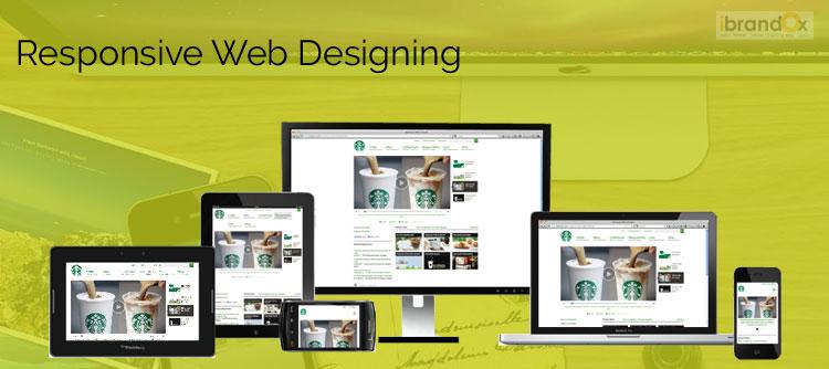 レスポンシブウェブサイトのデザイングルガオン