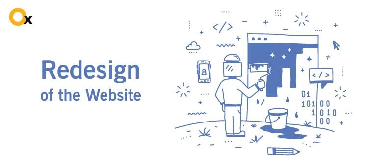 कारकों महत्वपूर्ण के लिए नया रूप-वेबसाइट