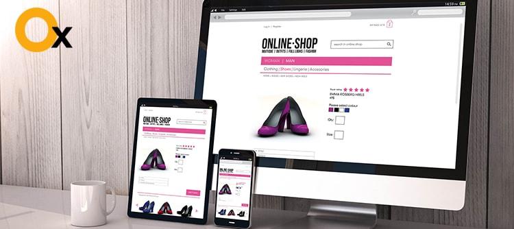 التجارة الإلكترونية، تصميم شركة في نيودلهي