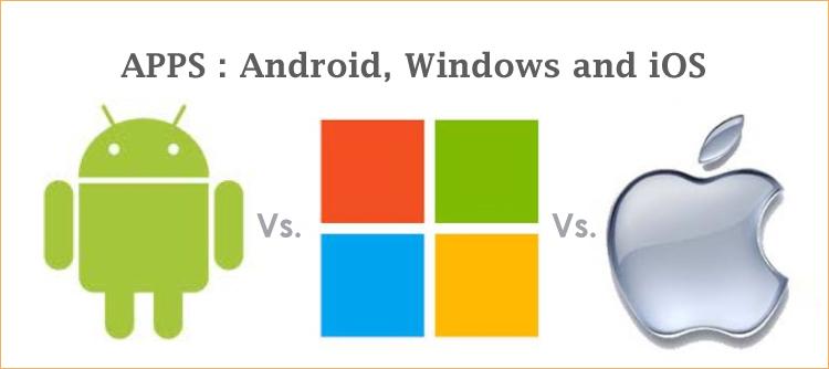 борьба между Android-окнами и iOS