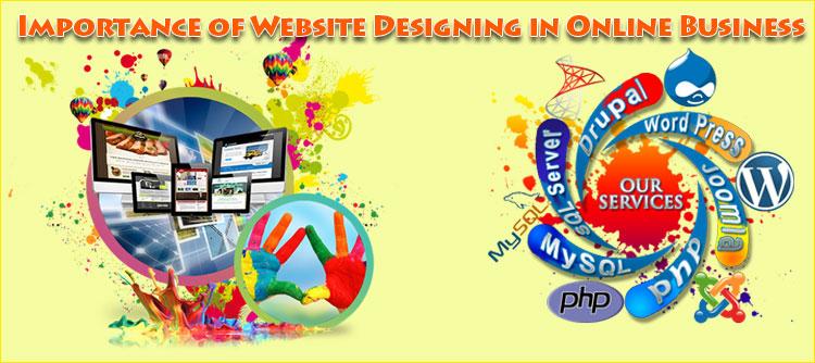 أهمية من بين الموقع تصميم-في-الأعمال التجارية عبر الإنترنت