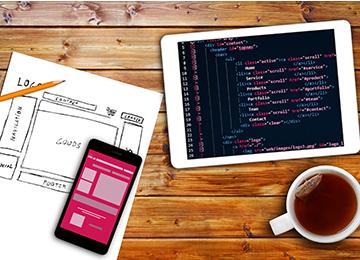 वेब डिजाइनिंग कंपनी में भारत