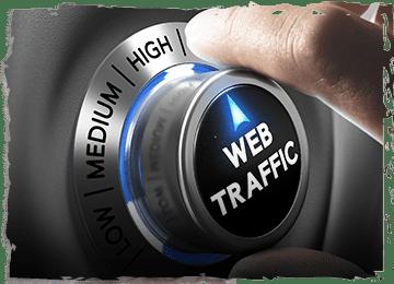 على شبكة الانترنت لحركة المرور